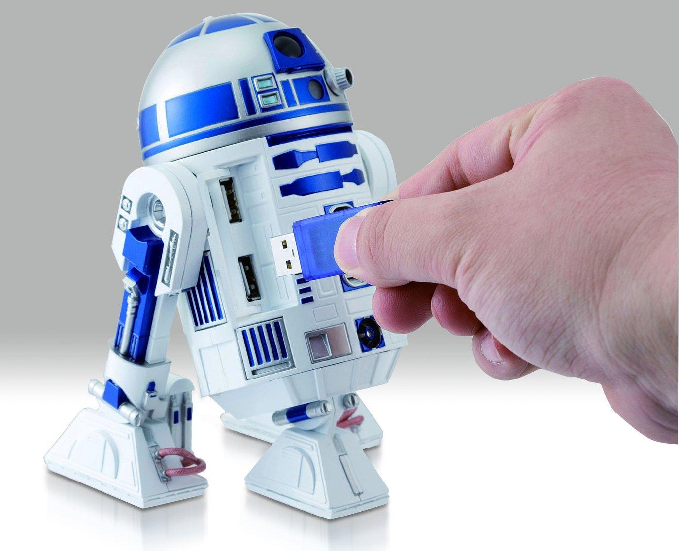 SW R2-D2 USB Charging Hub 2