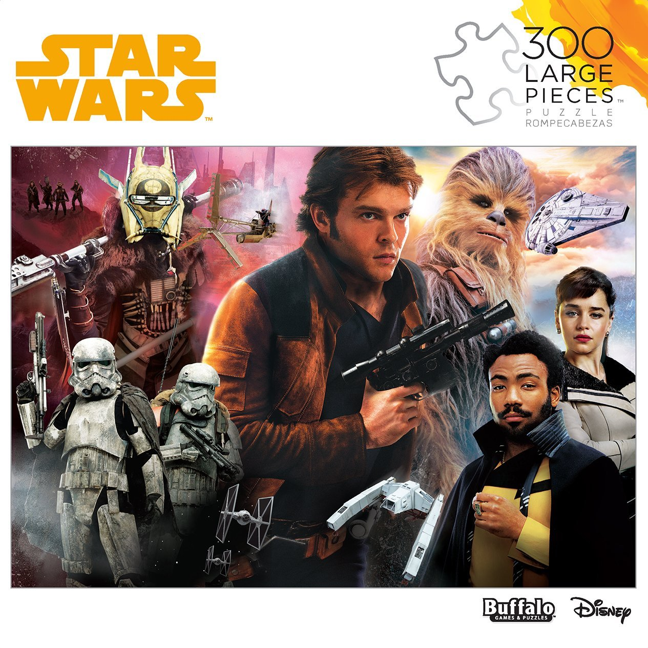Solo: ASWS 300 Large Piece Jigsaw Puzzle 1