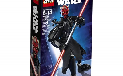 New Star Wars Lego Darth Maul Buildable Figure available on Amazon.com