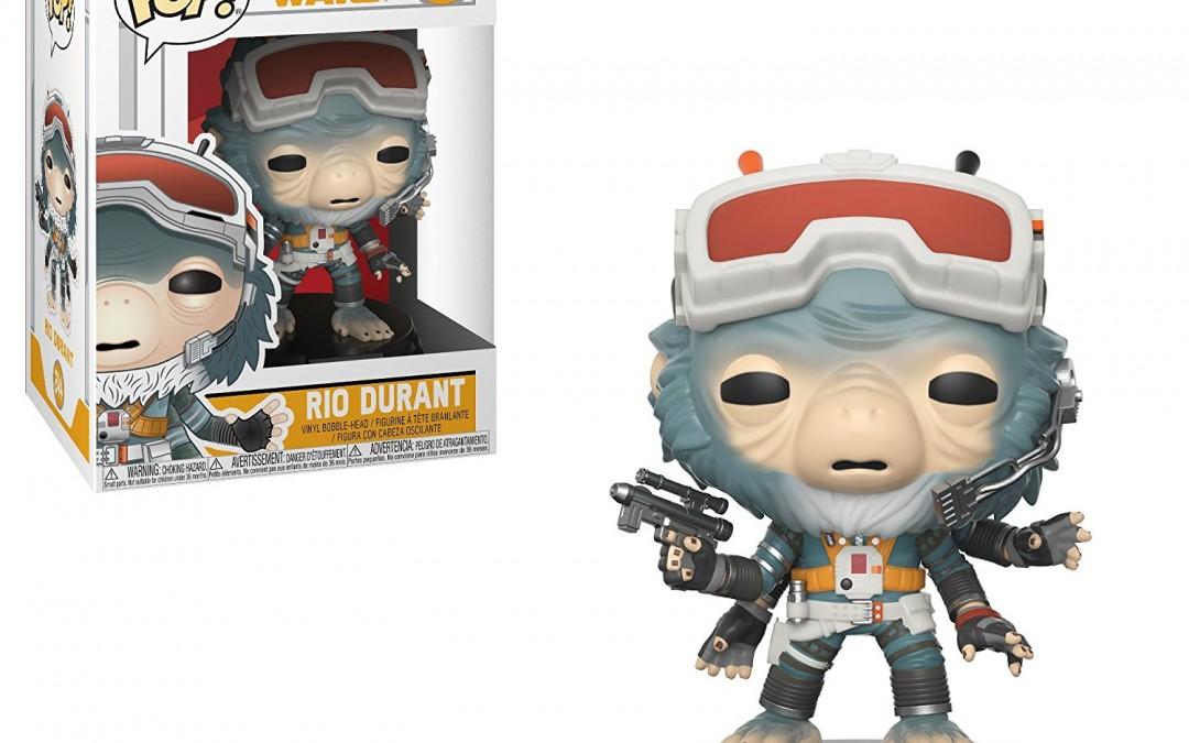 New Solo Movie Funko Pop! Rio Durant Bobble Head Toy available on Amazon.com
