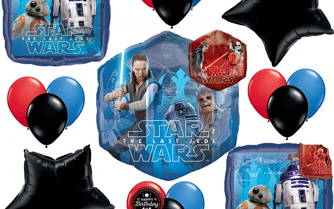New Last Jedi Resistance Deluxe Party Balloon Kit available on Amazon.com