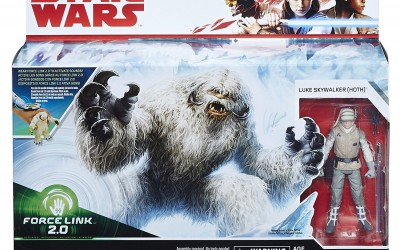 New Last Jedi Wampa and Luke Force Link 2.0 Figure 2-pack available on Amazon.com