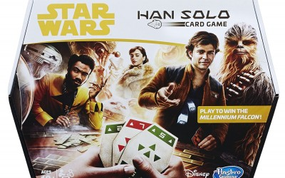New Solo Movie Han Solo Hasbro Card Game available on Amazon.com