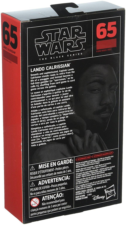 "Solo: ASWS 6"" BS Lando Calrissian Figure 2"