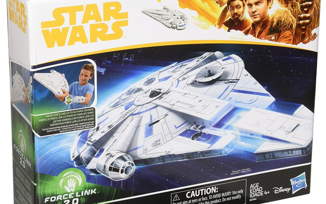 New Solo Movie Force Link 2.0 Millennium Falcon with Escape Craft Set available on Amazon.com