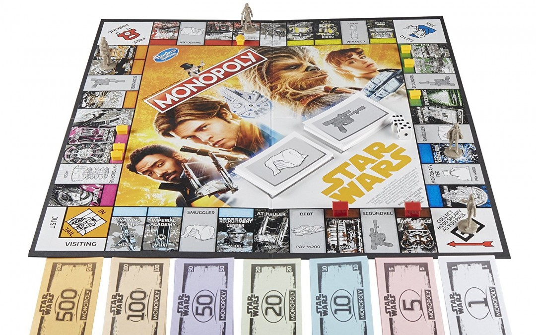 New Solo Movie Monopoly Hasbro Board Game available on Amazon.com