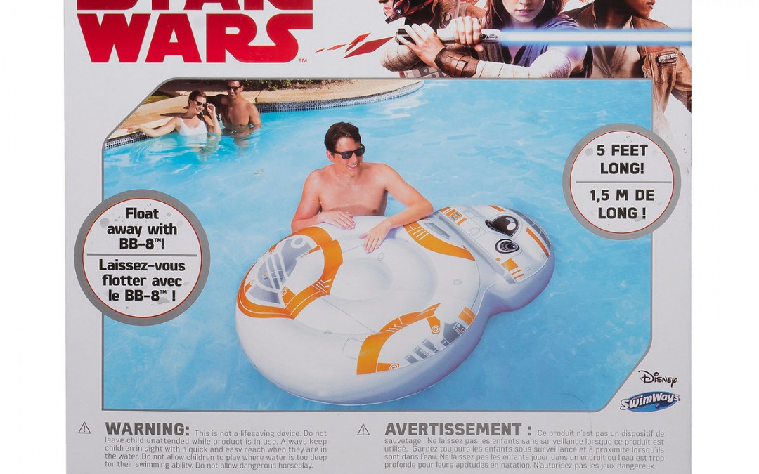 New Last Jedi BB-8 Pool Float available on Walmart.com