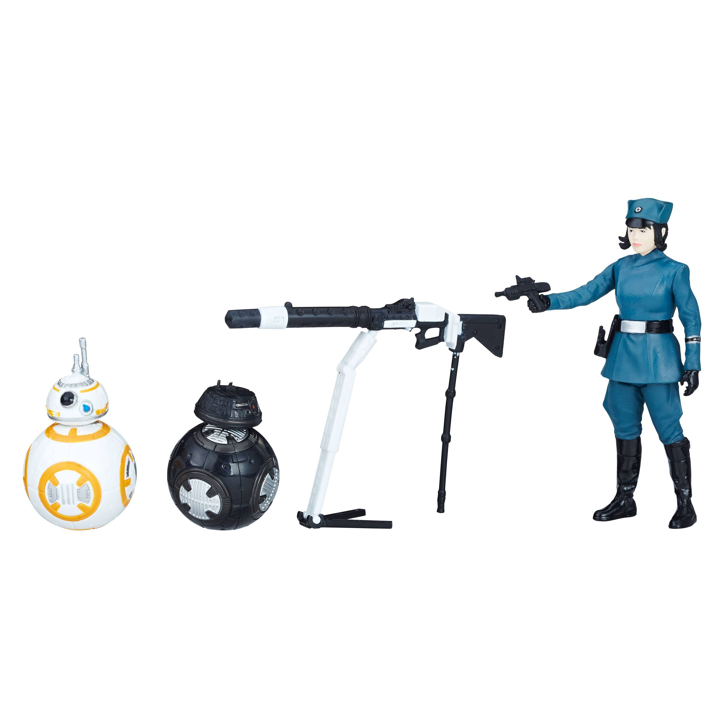 Solo: ASWS (TLJ) Rose (First Order Disguise), BB-8, and BB-9E Figure 3-Pack 3
