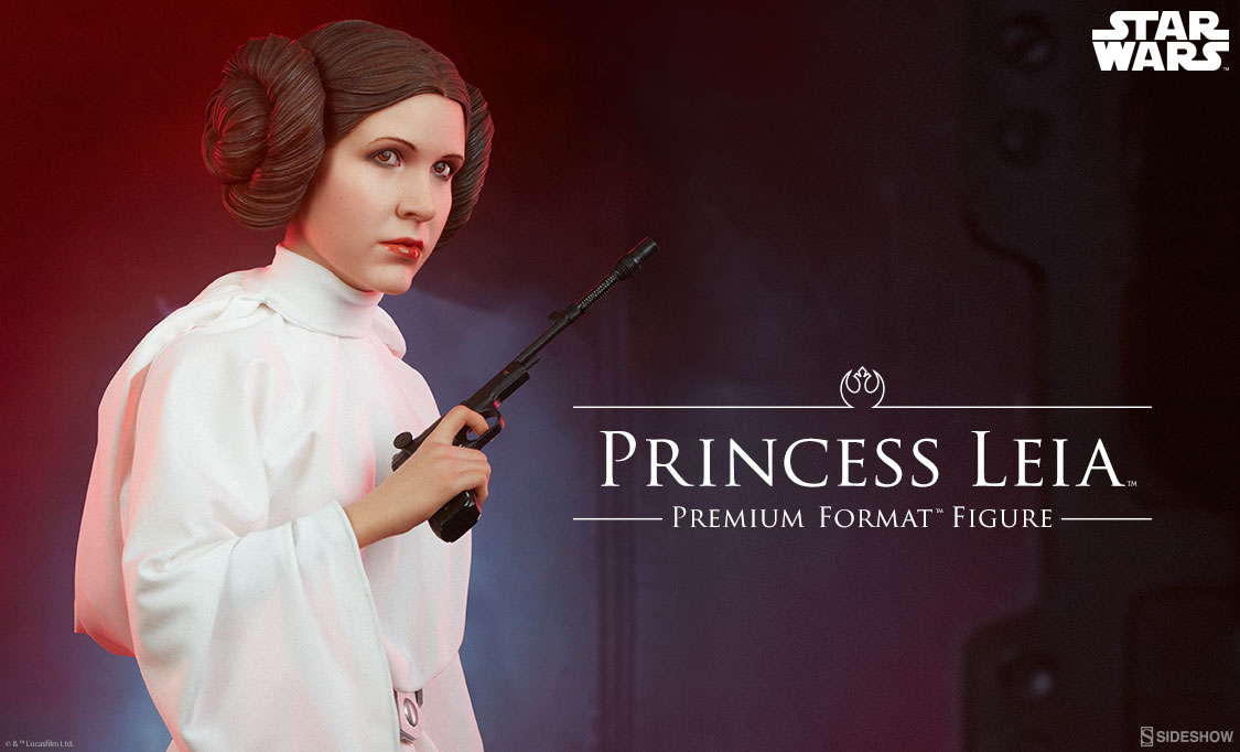 ANH Princess Leia PF Figure Preview Photo