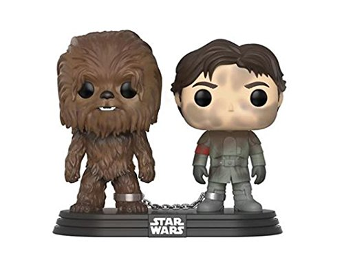 New Solo Movie Han Solo and Chewbacca Funko Pop! Bobble Head 2 Pack available on Amazon.com
