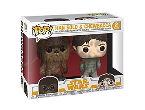 Solo: ASWS FP Han Solo and Chewbacca BH 2-Pack 1