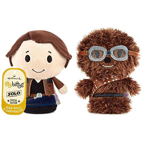 New Solo Movie Han Solo and Chewbacca Itty Bittys 2-Pack available on Amazon.com