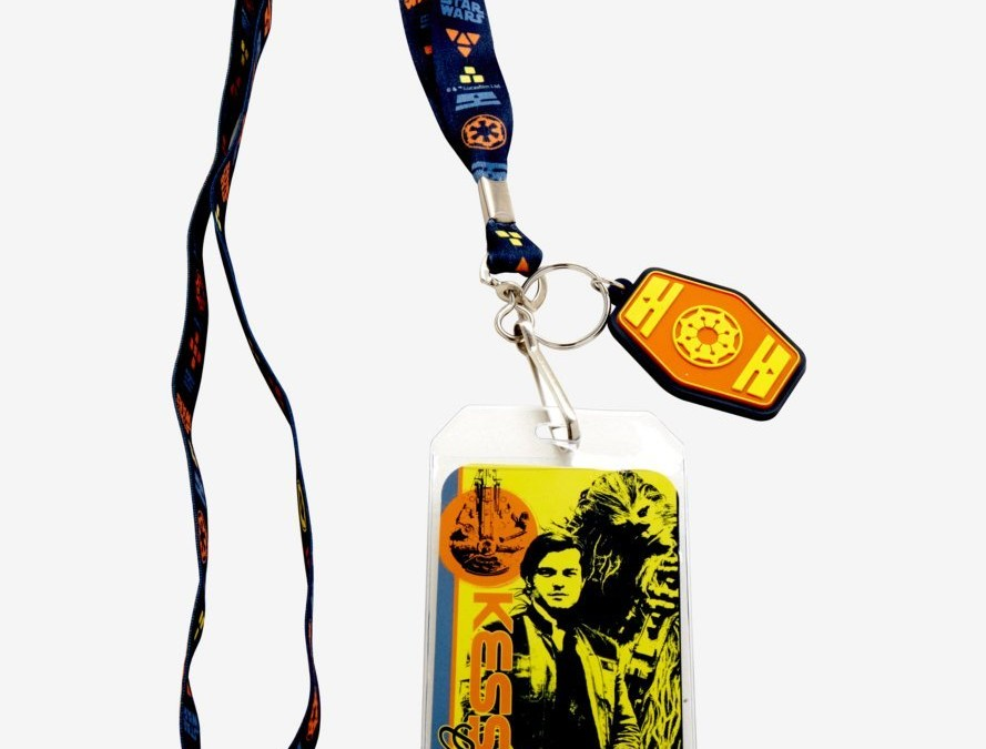 New Solo Movie Kessel Crew Lanyard available on Amazon.com