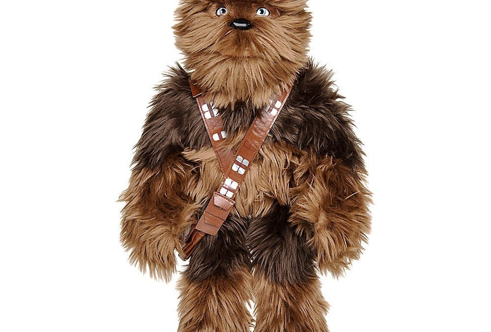 New Solo Movie Chewbacca Medium Plush Toy available on Amazon.com
