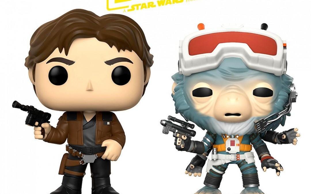 New Solo Movie Han Solo and Rio Durant Funko Pop! Bobble Head Toy Bundle available on Amazon.com