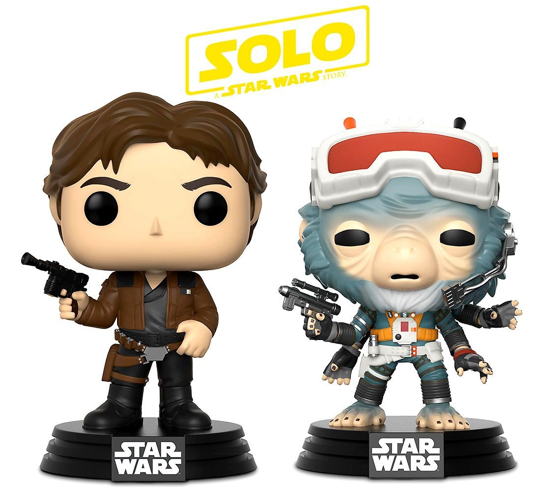 Solo: ASWS Han Solo and Rio Durant FP BH Toy Bundle 1