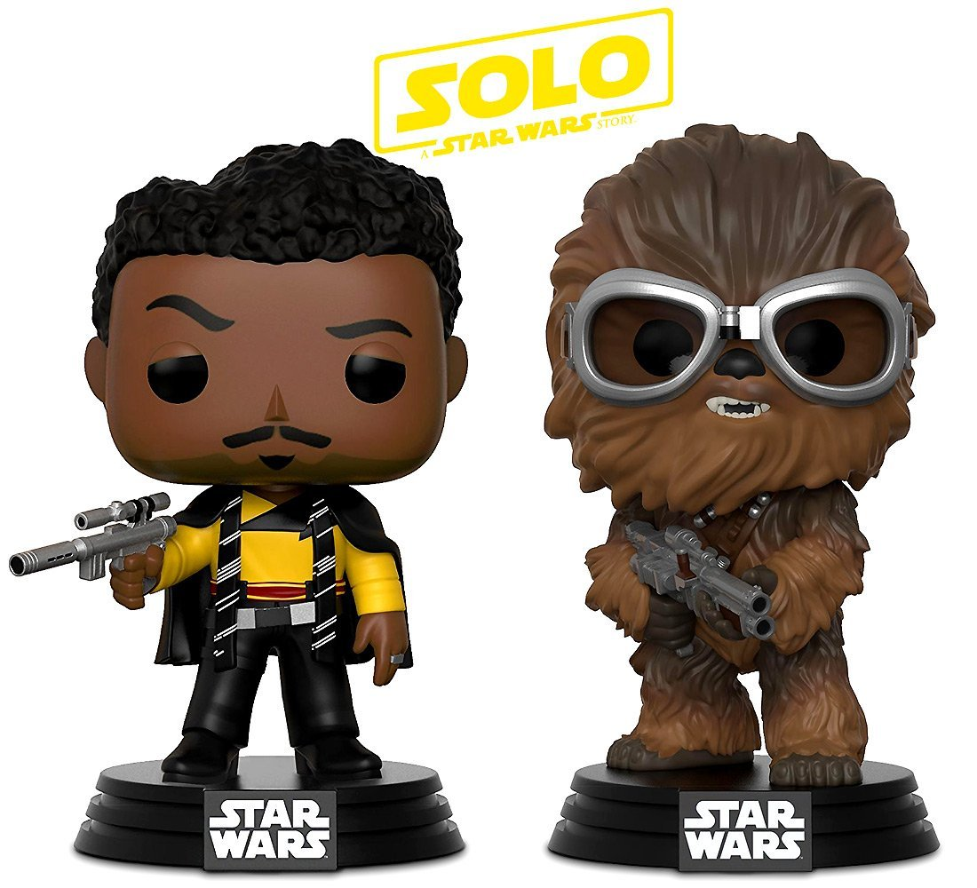 Solo: ASWS Chewbacca and Lando Calrissian FP BH Toy Bundle 1