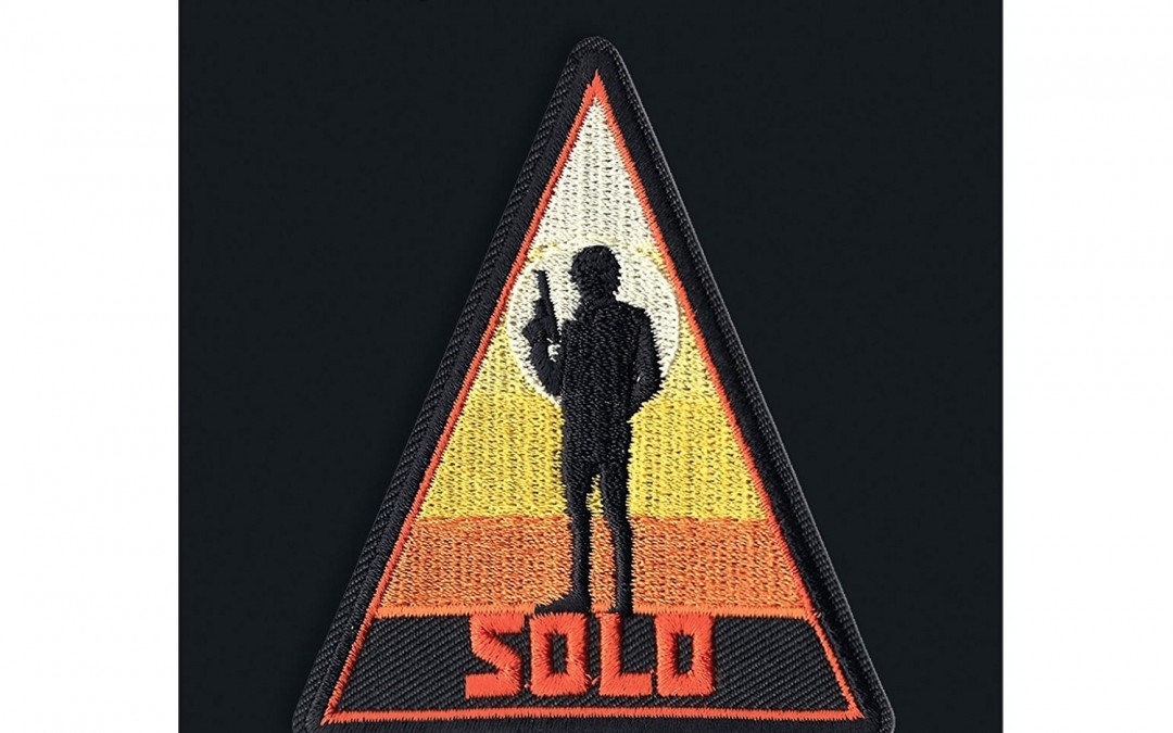 New Solo Movie Han Solo Sunset Embroidered Iron-On Patch available on Walmart.com