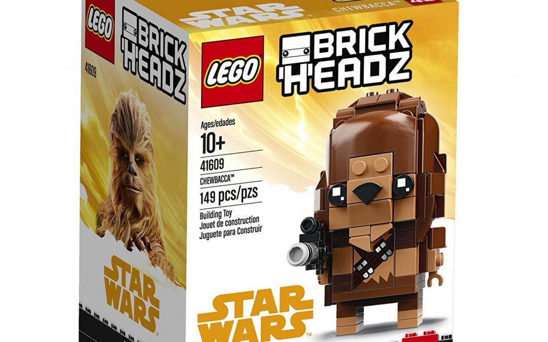 New Solo Movie Chewbacca BrickHeadz Lego Set available on Walmart.com