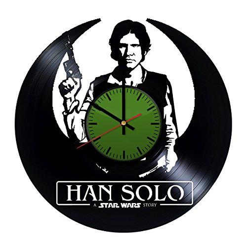 New Solo Movie Green Vinyl Record Clock available on Amazon.com