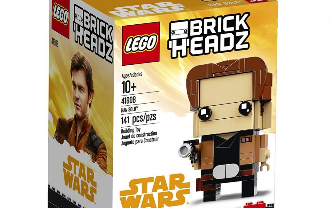 New Solo Movie Han Solo BrickHeadz Lego Set available on Walmart.com