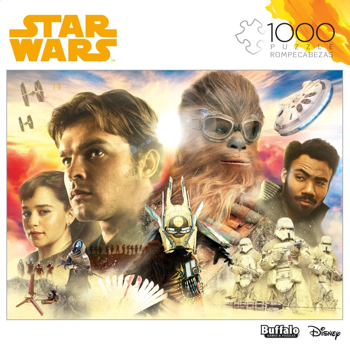 Solo: ASWS 1,000 Piece Jigsaw Puzzle 1
