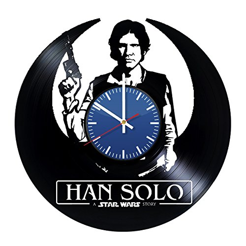 New Solo Movie Blue Vinyl Record Clock available on Amazon.com