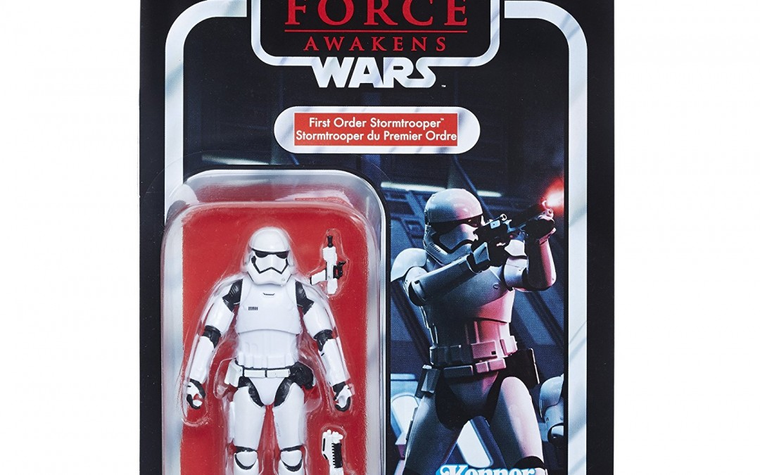 "New Last Jedi First Order Stormtrooper 3.75"" Vintage Figure available on Walmart.com"