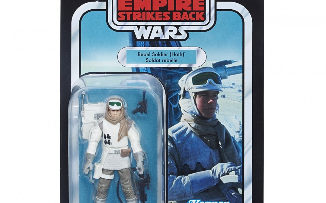 "New Empire Strikes Back 3.75"" Vintage Rebel Trooper (Hoth) Figure available on Amazon.com"