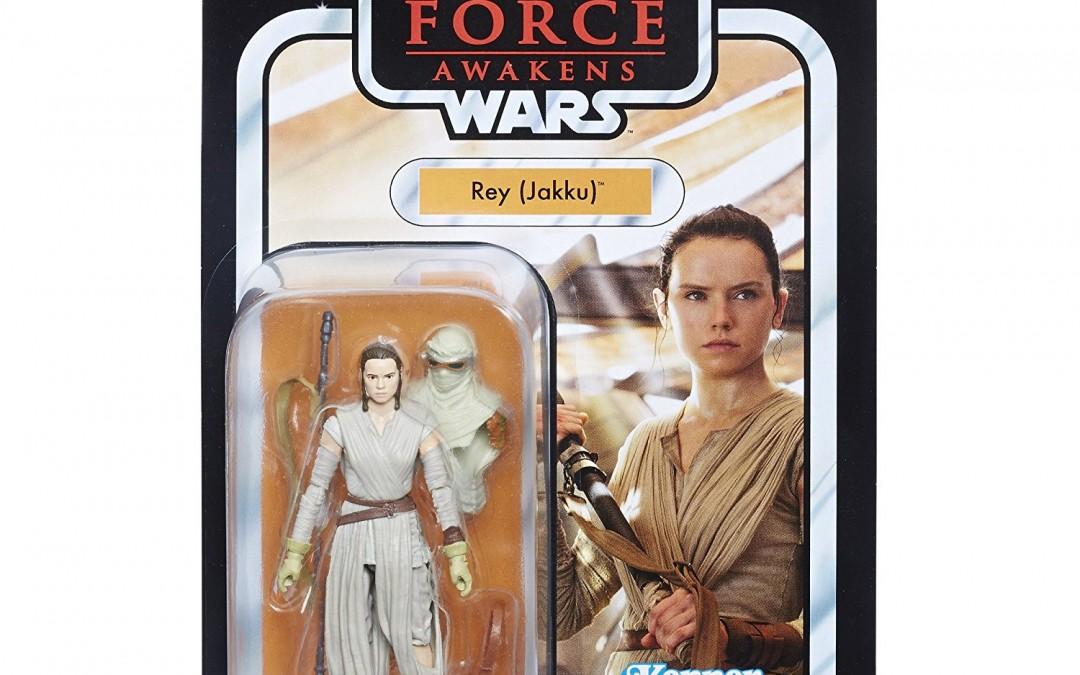 """New Force Awakens Rey (Jakku) 3.75"""" Vintage Figure available on Walmart.com"""