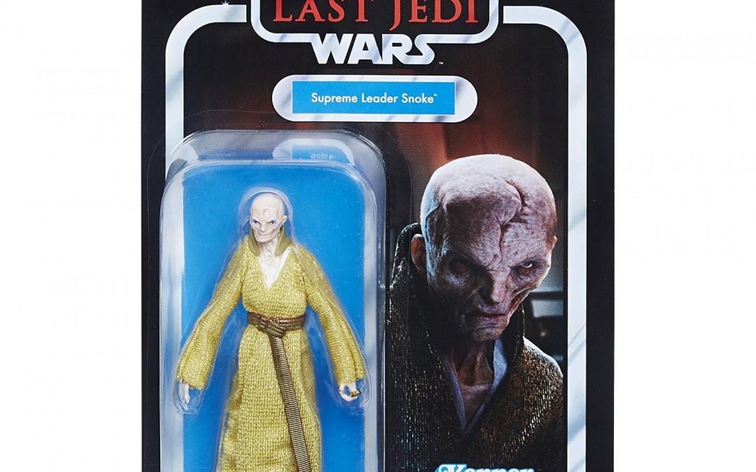 "New Last Jedi 3.75"" Supreme Leader Snoke Vintage Figure available on Walmart.com"