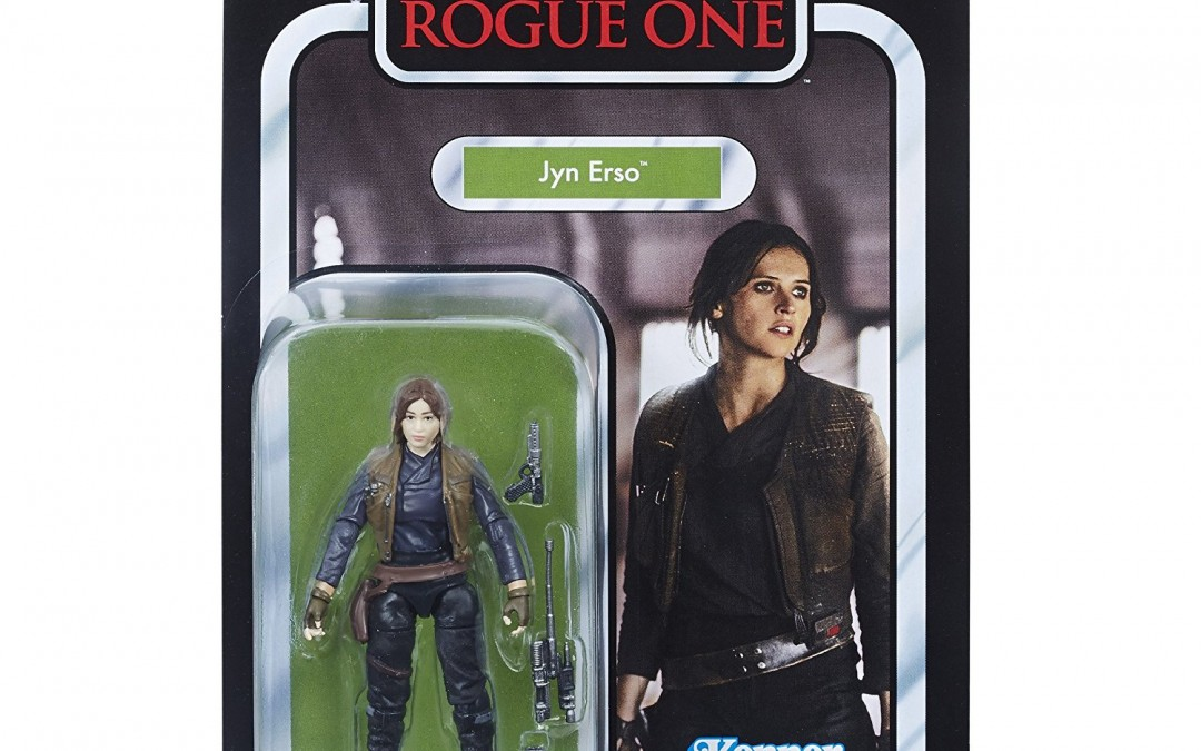 """New Rogue One Jyn Erso 3.75"""" Vintage Figure available on Amazon.com"""