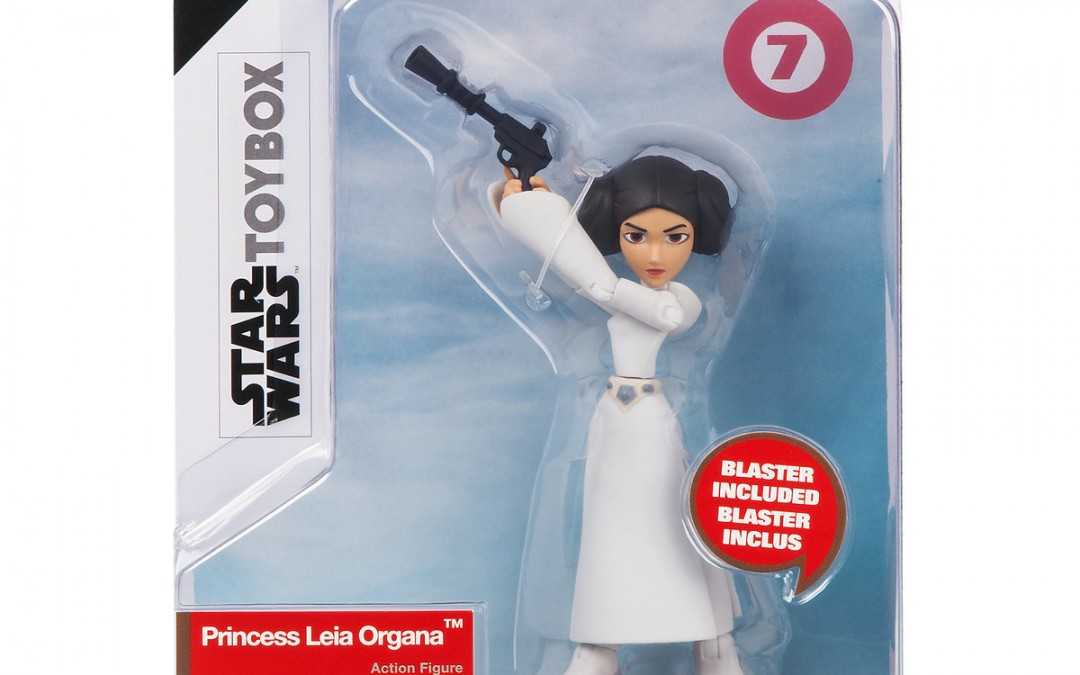 New Star Wars Toybox Princess Leia Figure available on ShopDisney.com