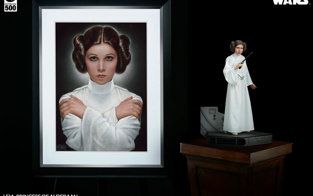 New A New Hope Leia: Princess of Alderaan Art Print available for pre-order on Sideshowtoy.com