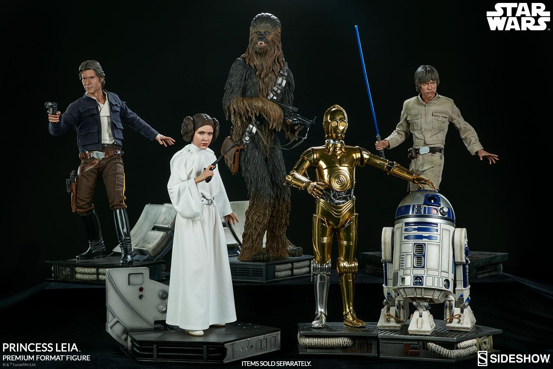 ANH Princess Leia Premium Format Figure 8