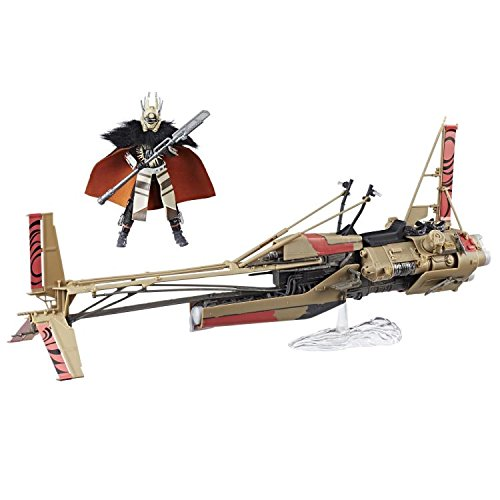 New Solo Movie Black Series Enfys Nest with Swoop Bike Vehicle Set available on Walmart.com