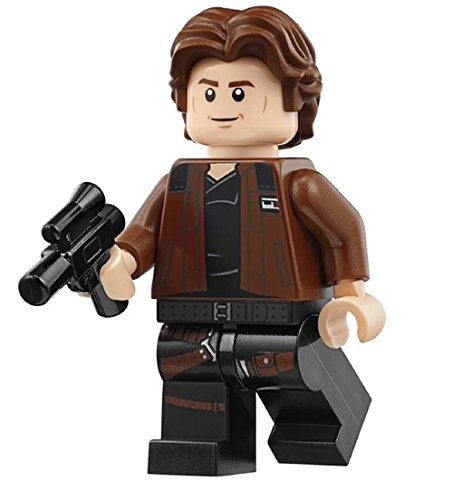 New Solo Movie Han Solo Brown Kessel Run Jacket Lego Mini Figure available on Amazon.com