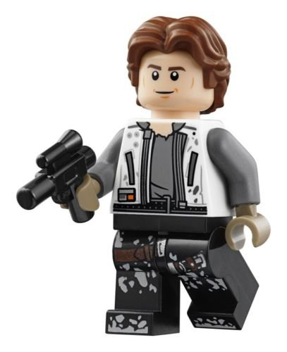 New Solo Movie Han Solo Lego Mini Figure available on Amazon.com