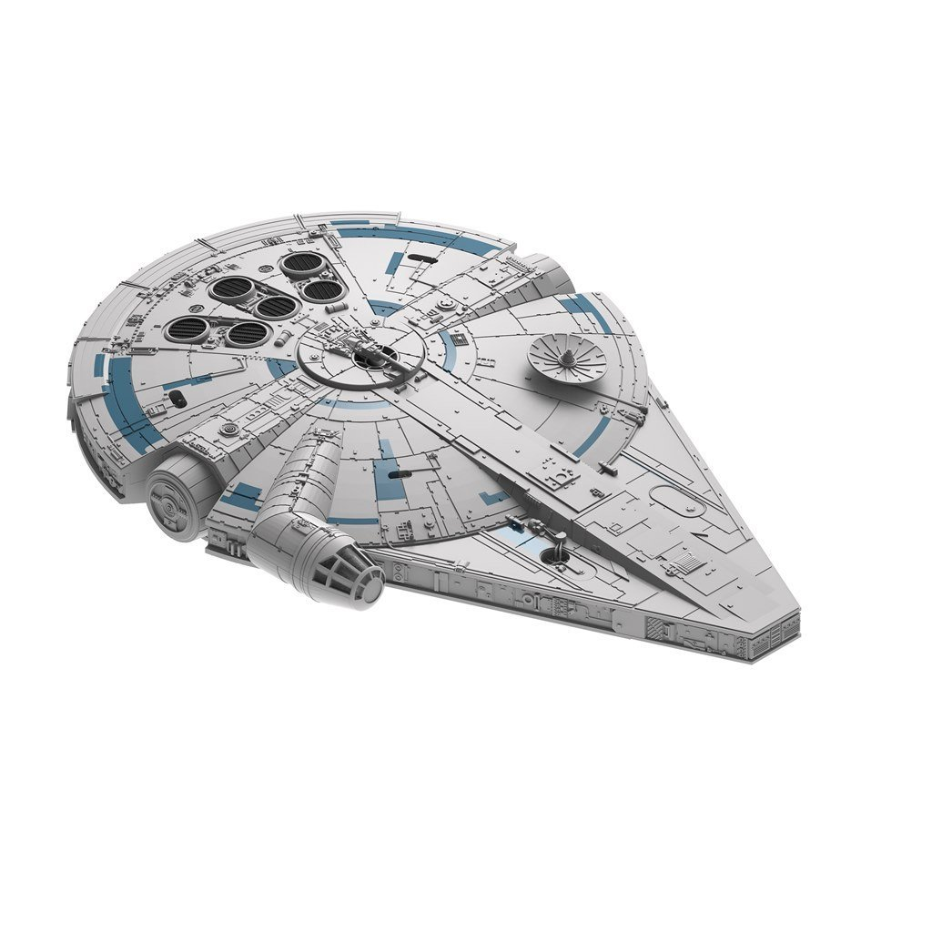 Solo: ASWS B&P Millennium Falcon Model Kit 3
