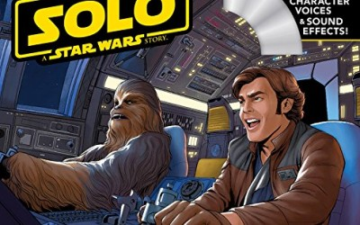 New Solo Movie Read-Along Storybook and CD Set available for pre-order on Amazon.com