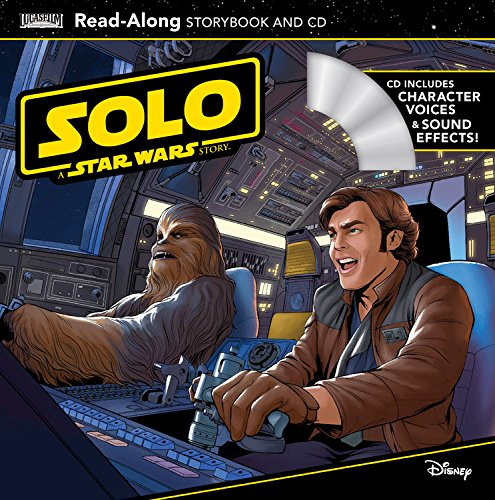 New Solo Movie Read-Along Storybook and CD Set available on Walmart.com