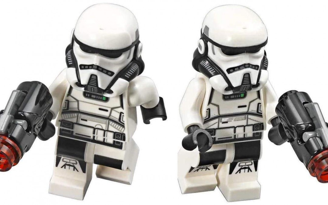 New Solo Movie Imperial Patrol Trooper Lego Mini Figure 2-Pack available on Amazon.com