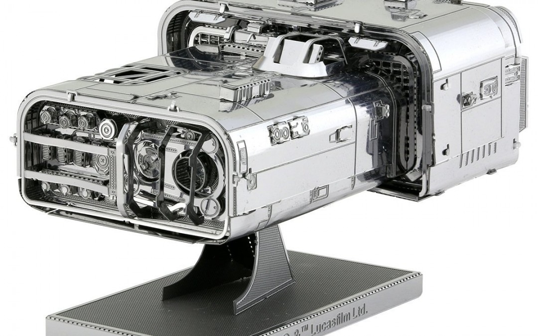 New Solo Movie Moloch's Landspeeder 3D Metal Model Kit available on Amazon.com