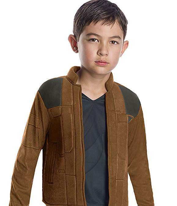 New Solo Movie Large Unisex Han Solo Deluxe Child's Costume available on Amazon.com