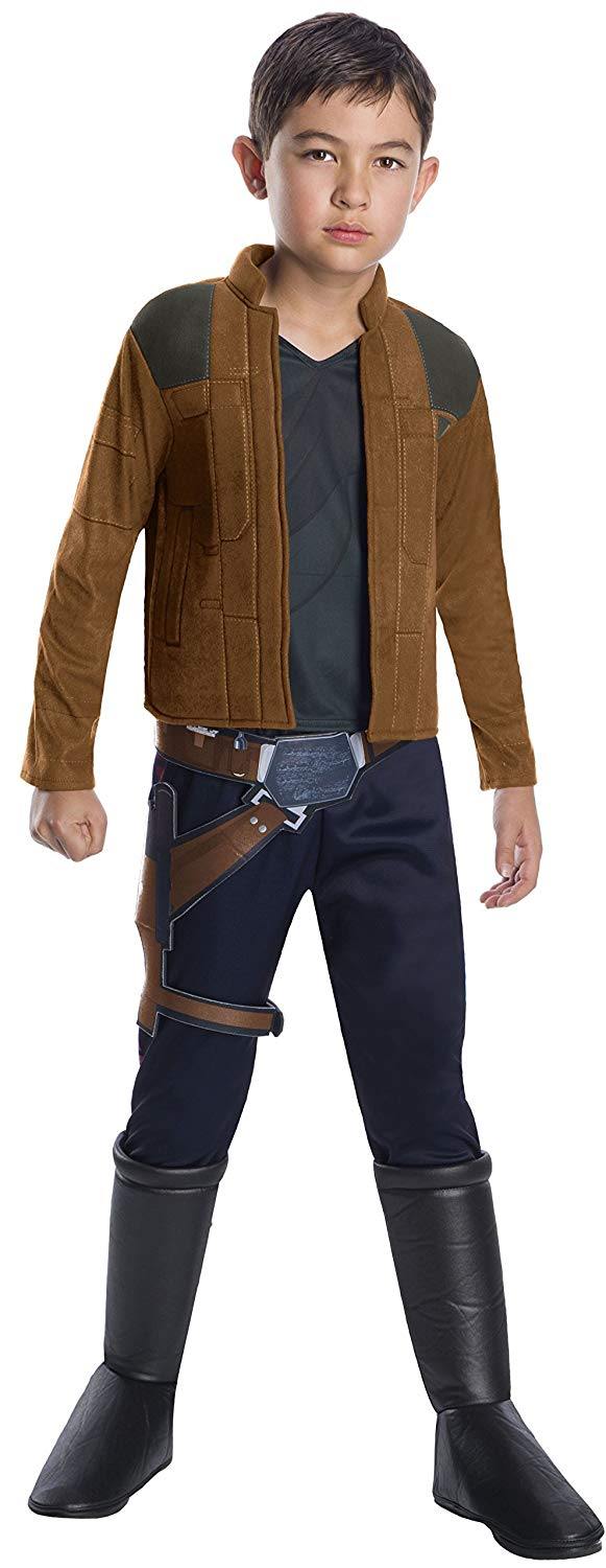 Solo: ASWS Large Unisex Han Solo Deluxe Child's Costume