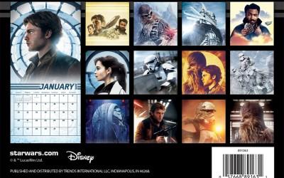New Solo Movie Mini Calendar available for pre-order on Amazon.com