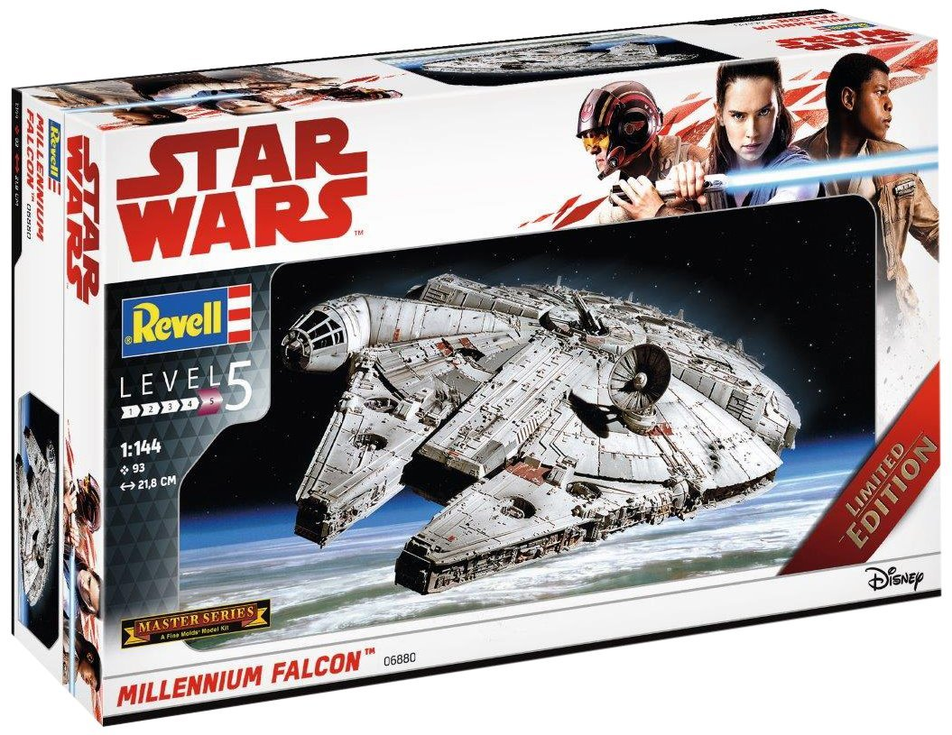 TLJ Millennium Falcon Model Kit 1