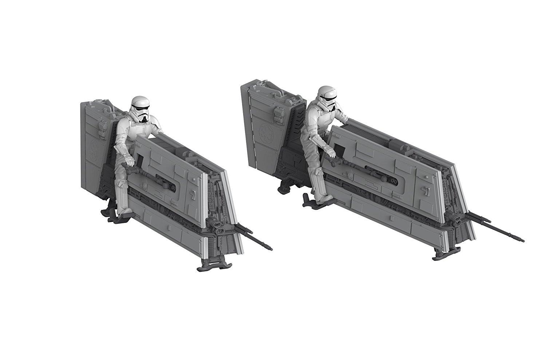 Solo: ASWS Imperial Patrol Speeder B&P Model Kit 2-Pack 3