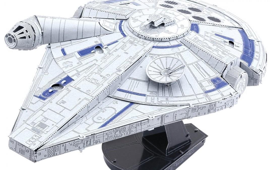 New Solo Movie Millennium Falcon 3D Metal Model Kit available on Walmart.com