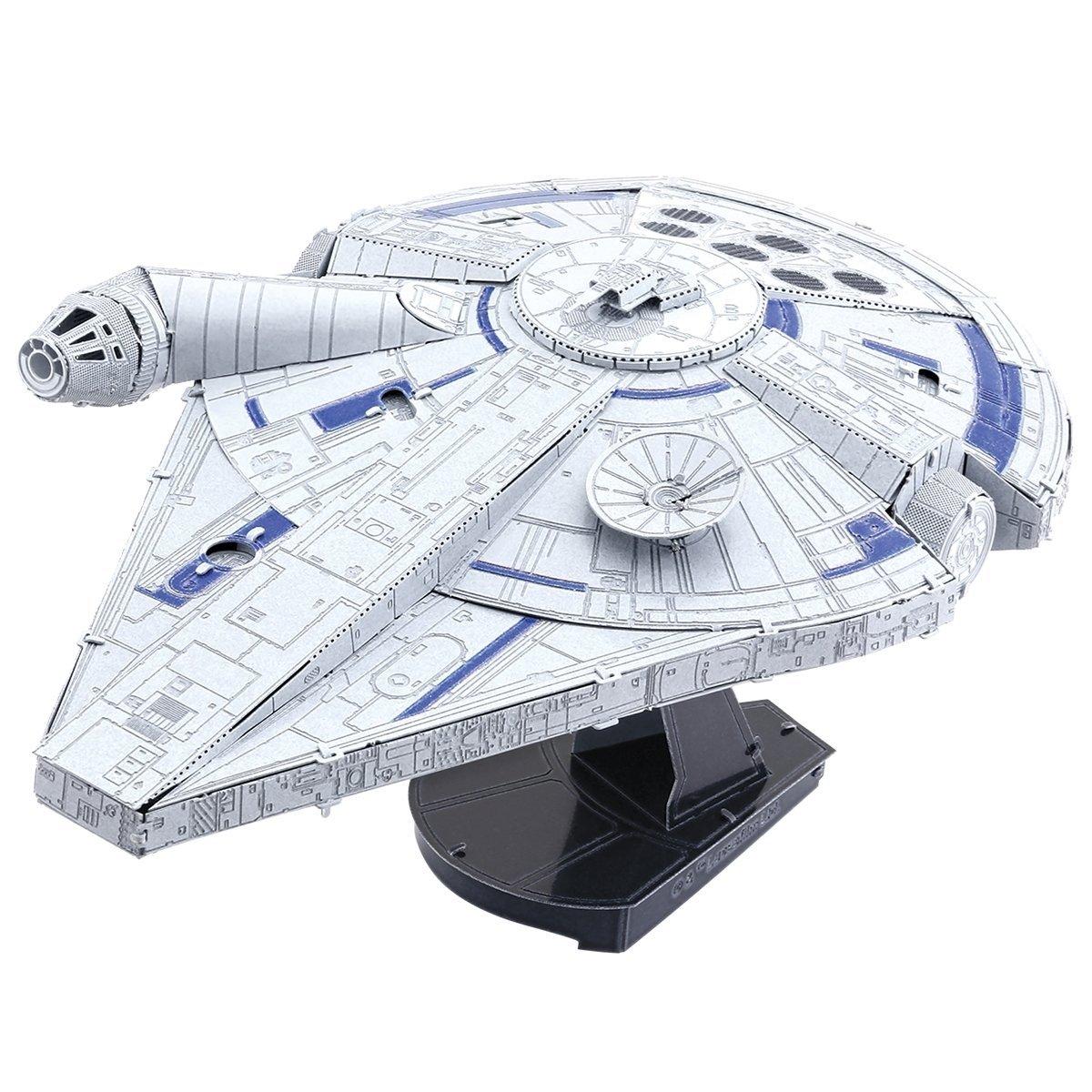 Solo: ASWS Millennium Falcon 3D Metal Model Kit 1
